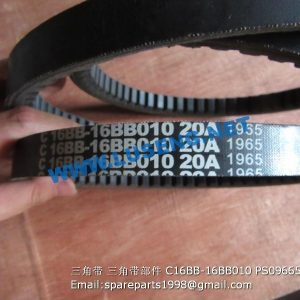 ,BELT C16BB-16BB010 PS09665 SHANGCHAI C6121 PARTS