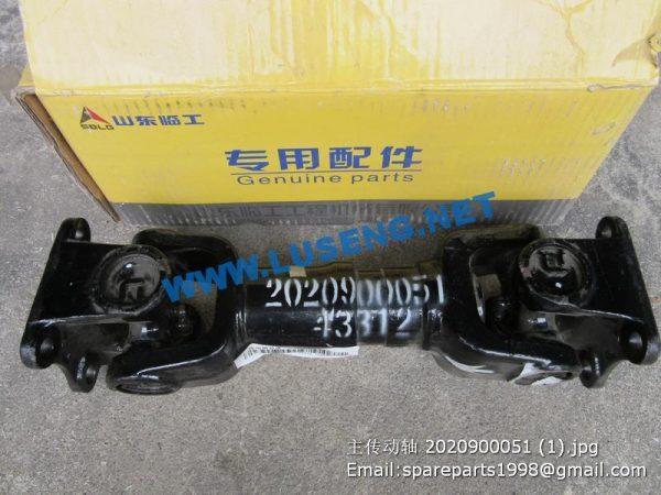 ,Propeller shaft 2020900051 SDLG LG933L WHEEL LOADER
