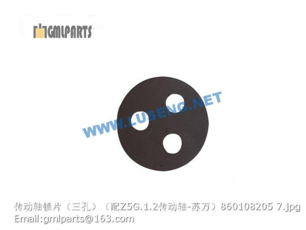 ,860108205 drive shaft lock plate for Z5G.1.2