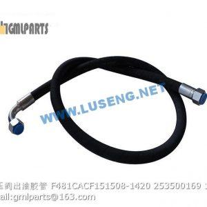 ,hose F481CACF151508-1420 253500169