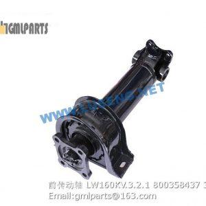 ,FRONT DRIVE SHAFT LW160KV.3.2.1 800358437