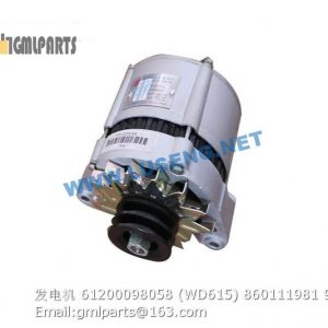 ,alternator 61200098058 (WD615) 860111981