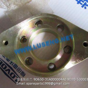 ,TRANSMISSION PUMP FLANGE 9D650-31A000004A0 9D20-530003 FL935E FL936F FL938F