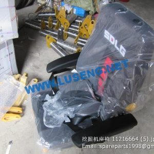 ,driver seat 11216664 11211271 SDLG EXCAVATOR PARTS