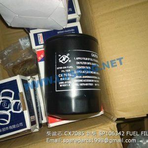 ,CX7085 SP106342 FUEL FILTER