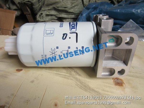 ,T64102003 7200002978 D00-034-01 1119G-030 FF5327 fuel filter