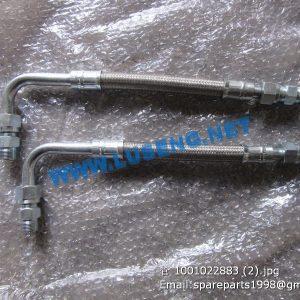 ,hose 1001022883 weichai spare parts