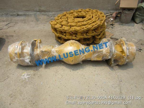 ,ZL30-000A 41C0129 front drive shaft xgma xg932 xg935 spare parts