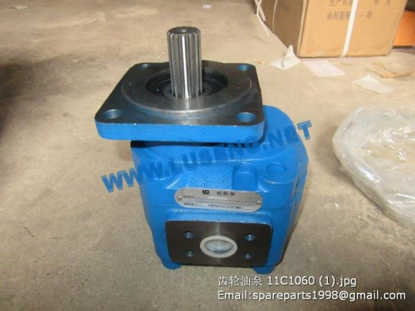 ,11C1060 JHP3080R GEAR PUMP LIUGONG CLG856 WHEEL LOADER