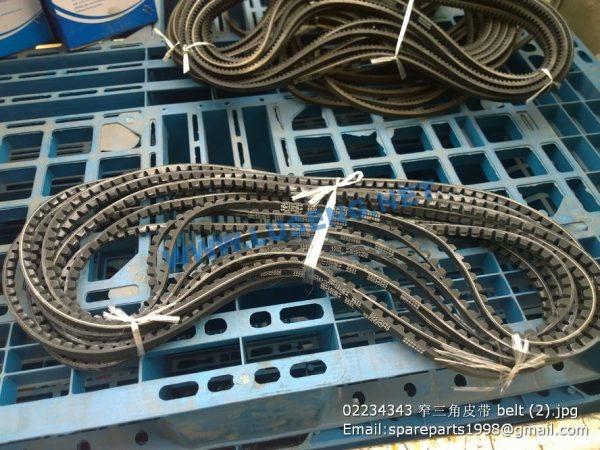 ,02234343 deutz weichai belt