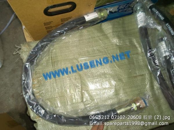 ,06C5212 hose,liugong clgb160 clgb161 bulldozer spare parts