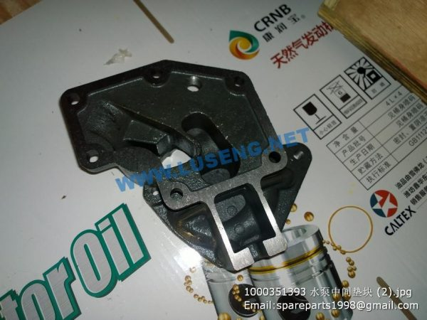 ,1000351393 Water Pump Middle Filling Block