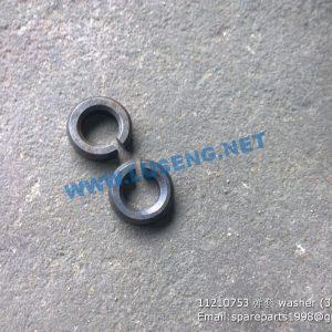 ,11210753 washer SDLG EXCAVATOR SPARE PARTS