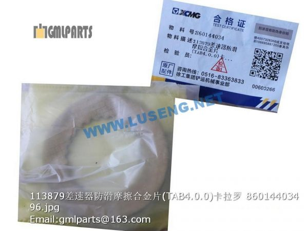 ,860144034 113879 FRICTION DISC TAB4.0.0