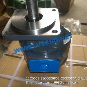 ,11C0009 11C0009P02 CBG2080A gear pump zl40b zl50c
