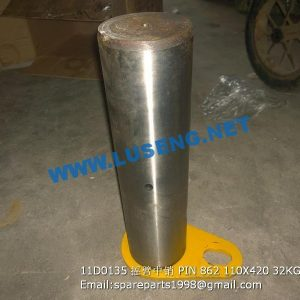 ,11D0135 PIN CLG862 LIUGONG 110X420