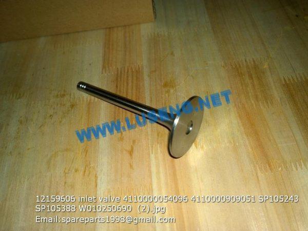,12159606 inlet valve 4110000054096 4110000909051 SP105243 SP105388 W010250690