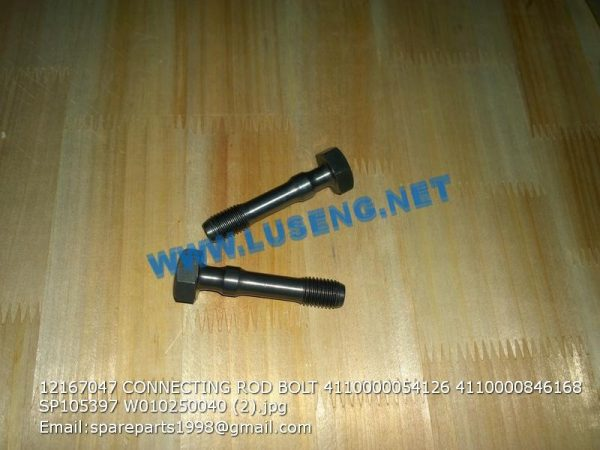 ,12167047 CONNECTING ROD BOLT 4110000054126 4110000846168 SP105397 W010250040