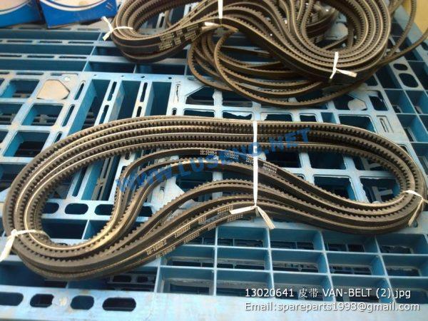 ,13020641 VAN-BELT weichai spare parts