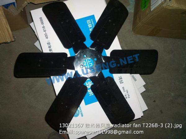 ,13021367 radiator fan T226B-3