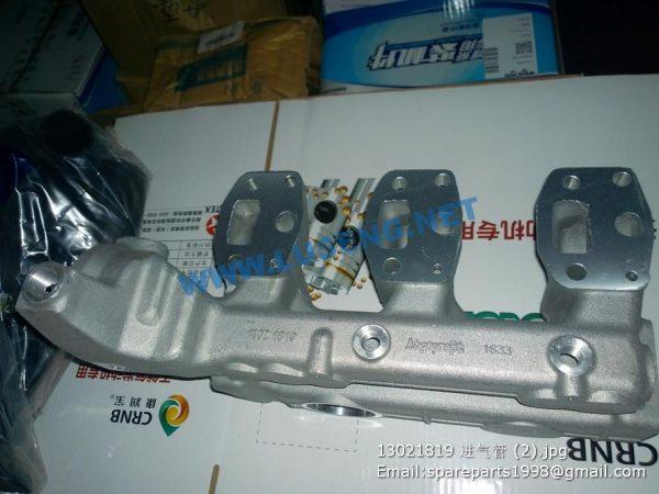 ,13021819 deutz weichai inlet pipe