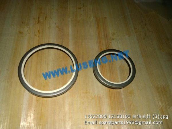 ,13022805 12188100 crankshaft oil seal weichai deutz engine parts