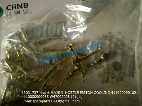 ,13031737 NOZZLE PISTON COOLING 4110000991021 4110000909065 W47002008