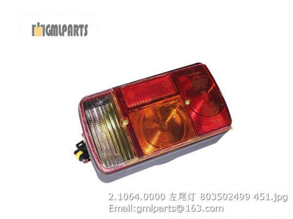 ,2.1064.0000 LEFT REAR LAMP 803502499 LW800K LW900K
