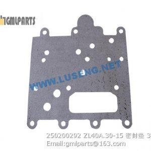 ,250200292 ZL40A.30-15 GASKET