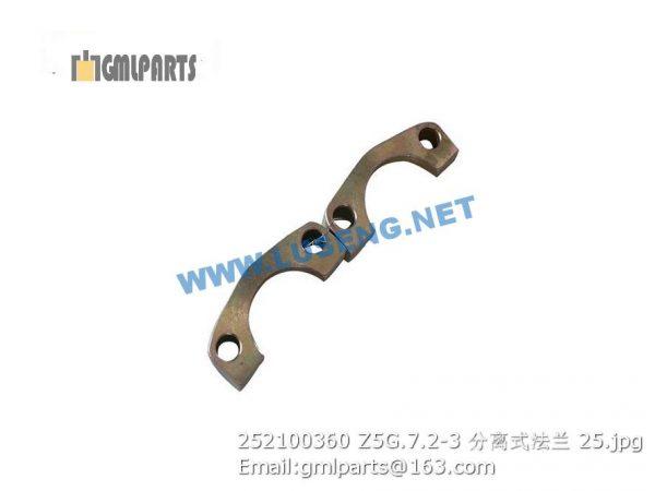 ,252100360 Z5G.7.2-3 Split Flange