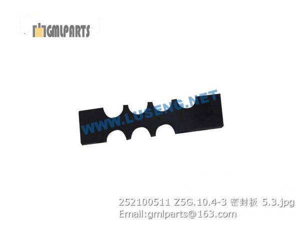,252100511 Z5G.10.4-3 seal plate