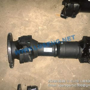 ,252803638 MIDDLE DRIVE SHAFT LW400Fn XCMG