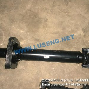 ,252803638 FRONT DRIVE SHAFT LW400FN XCMG WHEEL LOADER