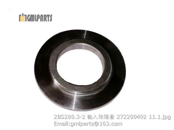 ,2BS280.3-2 input shaft sleeve 272200492