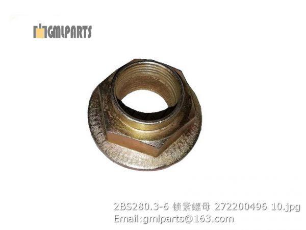 ,2BS280.3-6 xcmg nut 272200496