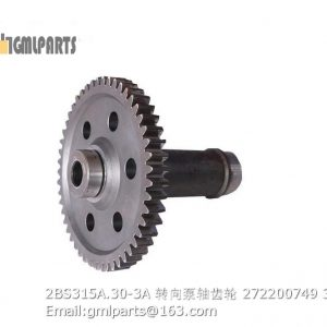 ,2BS315A.30-3A steering pump gear shaft 272200749