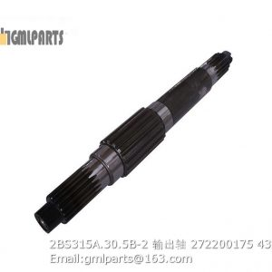 ,2BS315A.30.5B-2 XCMG OUTPUT SHAFT 272200175
