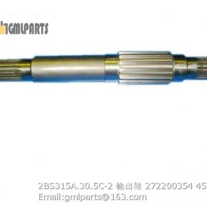 ,2BS315A.30.5C-2 output shaft 272200354