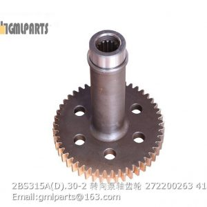 ,2BS315A(D).30-2 Steering Pump Shaft Gear 272200263
