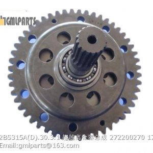 ,2BS315A(D).30.3.1 Overrun Clutch 272200270