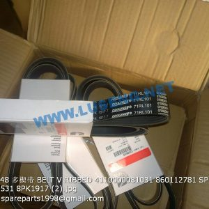 ,3289648 BELT V RIBBED 4110000081031 860112781 SP100693 SP105531 8PK1917