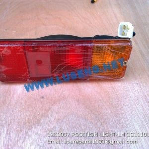 LIUGONG SPARE PARTS,32B0037,POSITION LIGHT-LH,32B0037 POSITION LIGHT-LH LIUGONG SPARE PARTS SC1010L