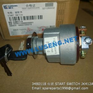 ,34B0118 START SWITCH JK412A