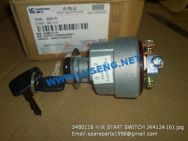 ,34B0118 START SWITCH JK412A
