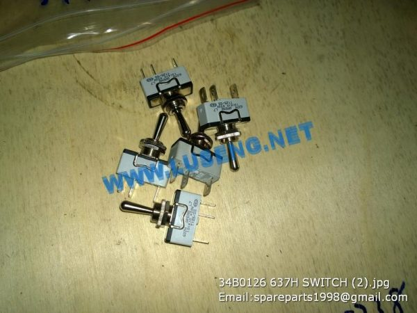LIUGONG SPARE PARTS,34B0126,SWITCH,34B0126 SWITCH LIUGONG SPARE PARTS