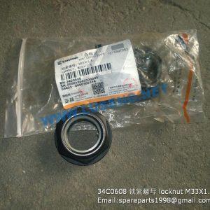 ,34C0608 lock nut M33X1.5
