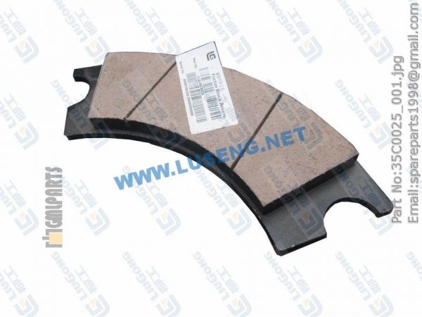 LIUGONG SPARE PARTS,35C0025,LINING PAD ASSEM.,35C0025 LINING PAD ASSEM. LIUGONG SPARE PARTS ZL50C.2.2.2