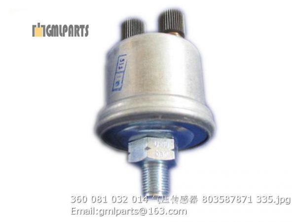 ,803587871 360 081 032 014 Pressure Sensor