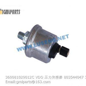 ,360081029012C VDO Pressure Senser 803544047