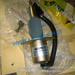 ,3930234 SP100723 W019800070 stop solenoid